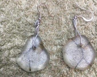 Beautiful Lake Michigan Handmade Earrings