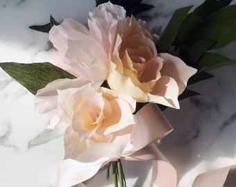 Crepe Bridesmaid Bouquet