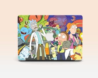 Macbook Pro 15 Rick and Morty Case Macbook Macbook Pro Case Macbook Hard Case, Macbook Air Macbook Air 11 Macbook Air 13 Christmas Gift