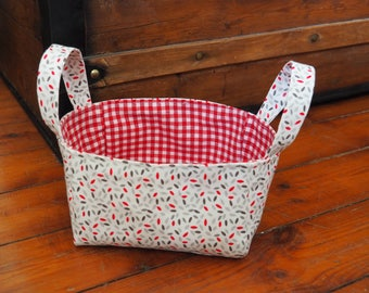 Multi-purpose fabric basket