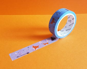 Fox in the Forest Washi Tape