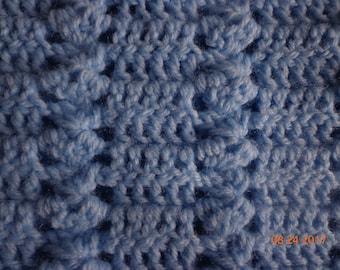 Blue Toddler Afghan