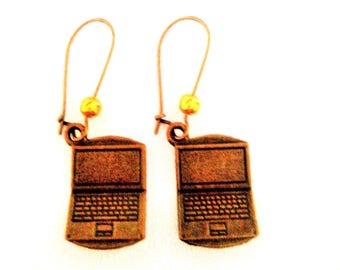 computer earrings