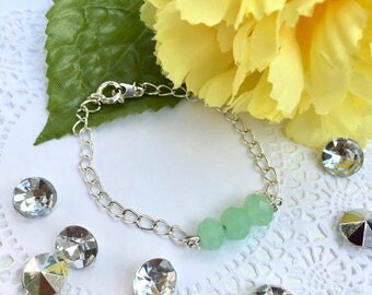 Mint Crystal Bracelet