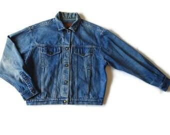 90s Calvin Klein denim jacket
