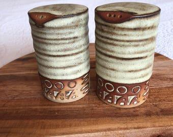 Vintage Tremar Pottery Salt & Pepper Shakers