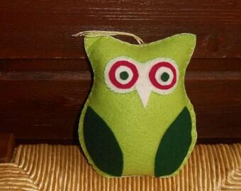 OWL felt hanging