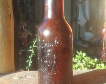 Antique Elgin Eagle beer bottle