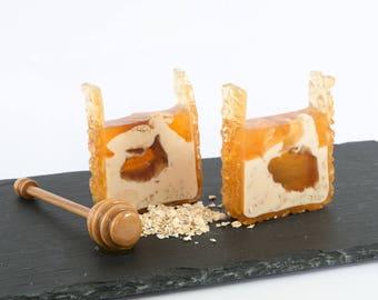 Honey Swirl - Handmade soap