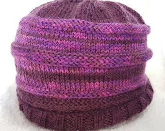 Handmade Knitted Beanie Toque