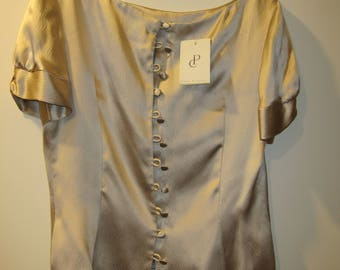 Paddy Campbell satin top