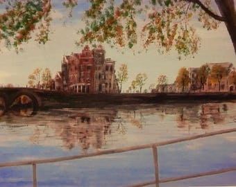 Amsterdam - Giclee Print from Original Oil Painting