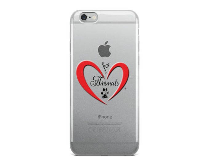 Heart of Love for Animals - iPhone 5/5s/Se, 6/6s, 6/6s Plus Case