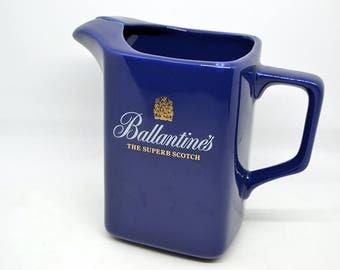 Ballantines Advertising Jug-Advertising pitcher Ballantines