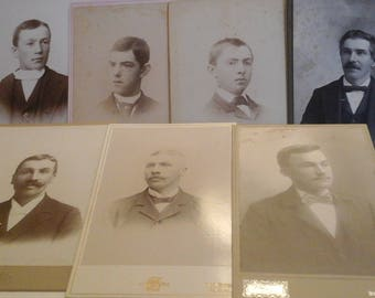 Antique  photo  bundle  of gentlemen