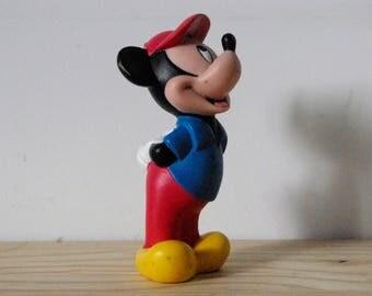 Pouet Pouet Mickey - Figurine Walt Disney - 1980 - old toy - Vintage - Retro