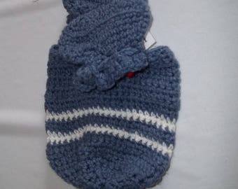 Baby Set Hat and Booties