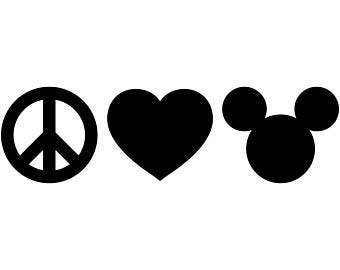 Peace, Love, and Mickey