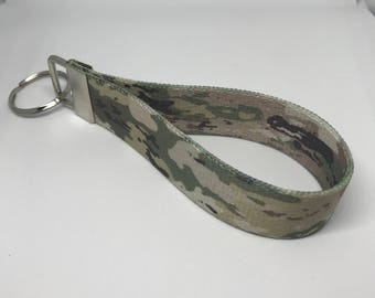 Army Camo Key Fob