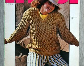 All 201 (Vintage) knitting magazine