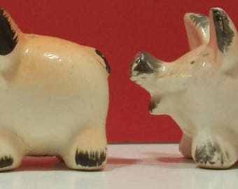 Pig Salt And Pepper Shakers - Made in Japan