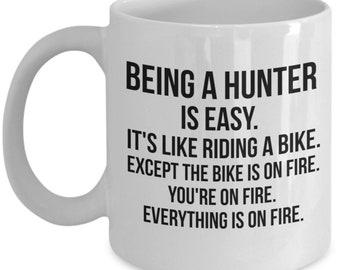 Hunter Mug, Hunter Gift, Gift For Hunter, Deer Hunter, Bow Hunter, Duck Hunter, Prersonalized Hunter, Funny Hunter Gift, Fathers day
