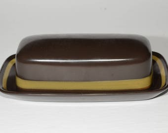 Mikasa, Terrazo, Majorca, Stoneware, Butter dish, Collectible Kitchen, Made in Japan, Vintage, hard to find, Dinnerware