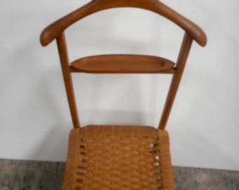 Vintage Hans Wegner Style Collapsible Butlers Chair