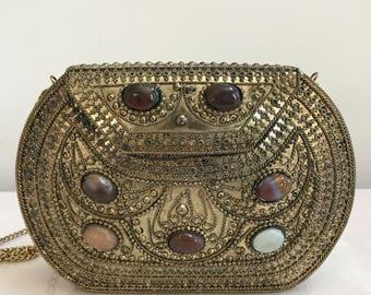 Antique Gold Purse