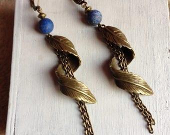 """Earrings """"blue"""""""