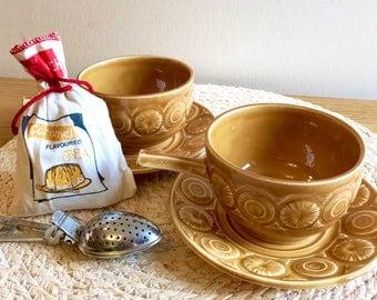 Set of Six, Vintage Tams Soup Bowls / Tea Cups
