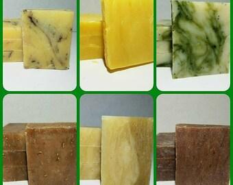 Set of 3 Organic Bath Soap