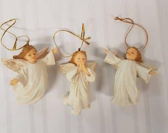 Set of Angel ornaments