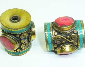 Ethnic Nepalese bead PE534