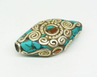 Ethnic Nepalese bead PE519