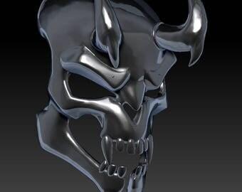 overwatch  hellfire reaper mask 3d model   for  3d printing