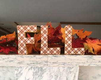 FLL for Fall Letter Set