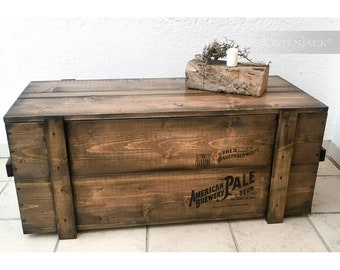 """Crate Box chest couch table """"pale"""""""