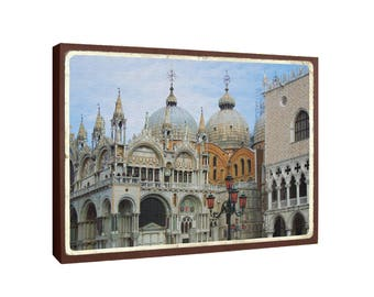 St. Mark's Basilica, Piazza San Marco, Venice Italy - Oversized POSTCARD