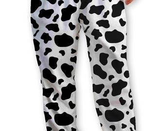 Cow Pattern Lounge Pants