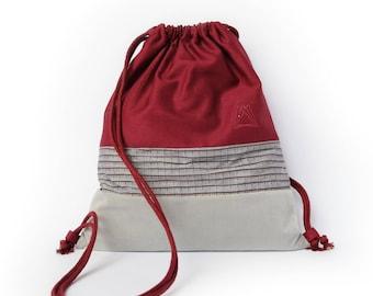 Kuroyuri drawstring backpack