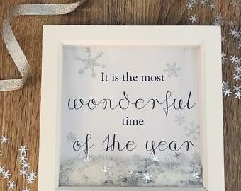 Christmas Box Frame
