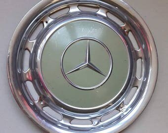 Vintage Mercedes Benz Hubcaps from the 1970's.