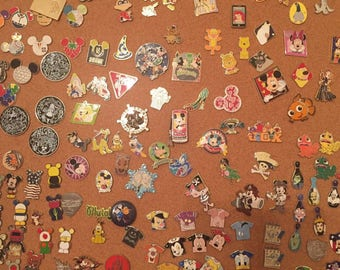 Lot of 50 Disney Trading Pins! Comes with free lanyard  You pick boy or girl !!!
