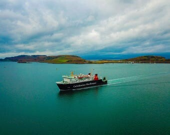 CalMac Ferry In Oban Scottish Highlands Picture