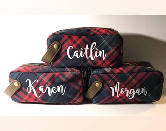 Personalized Pencil Pouch / Make up bag