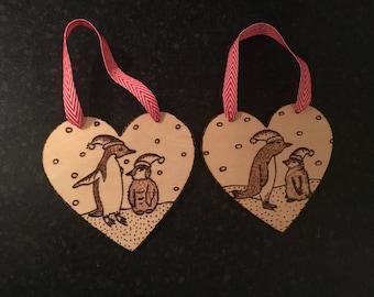 Christmas decoration: Penguin II