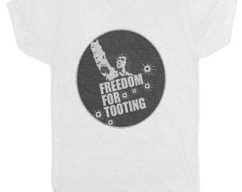 Freedom For Tooting T Shirt Wolfie Citizen Smith Vintage Film Movie Retro 70'S