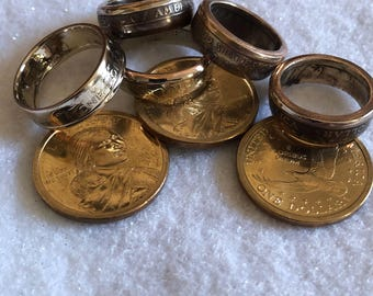 Coin ring  bands