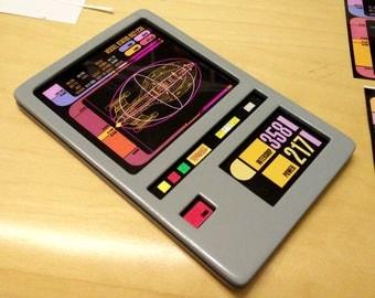 STAR TREK Voyager DS9 Padd Prop Replica TNG Starfleet